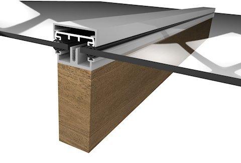 Rafterline Patent Glazing Bars