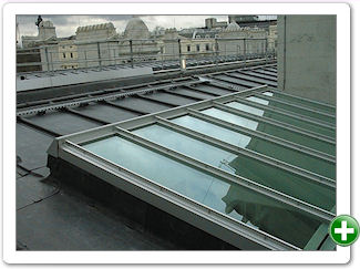 BL type Traditional Patent Glazing system