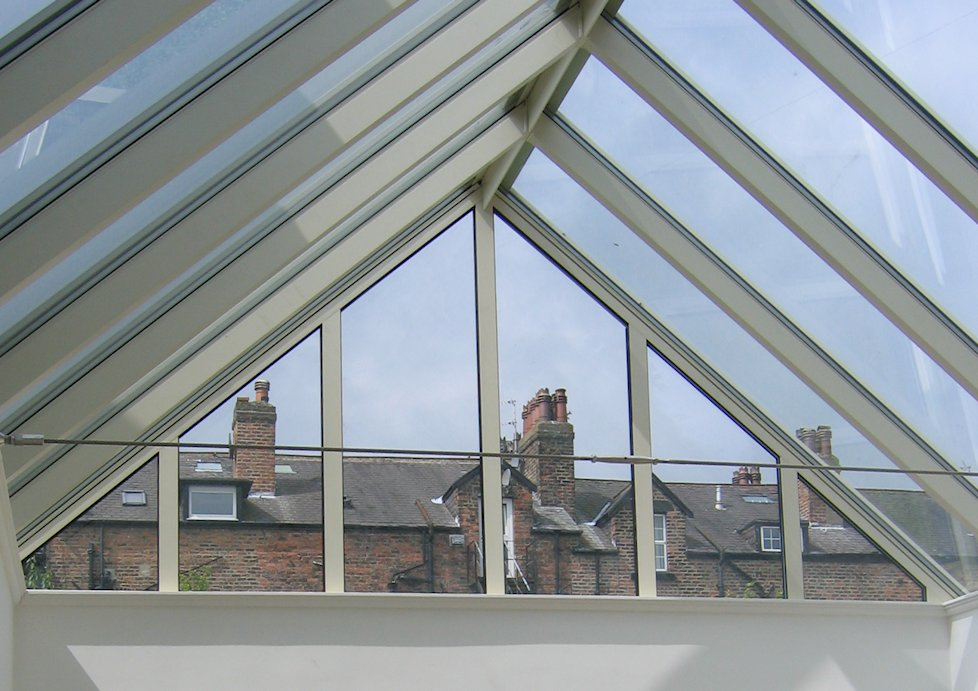 Gable Ended Skylights by The Standard Patent Glazing Co. Ltd