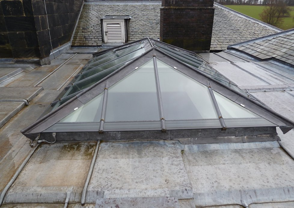 Heritage Hipped Skylights by The Standard Patent Glazing Co. Ltd