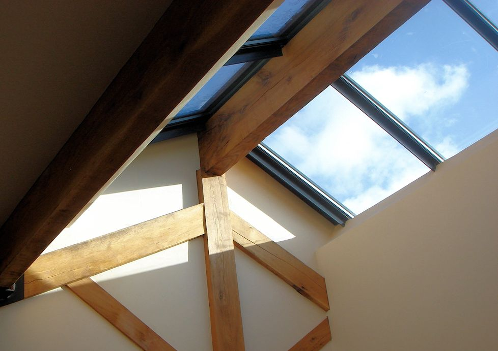 Domestic Property - small duo-pitched rooflight